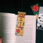 Marcadores de livro para imprimir e colorir
