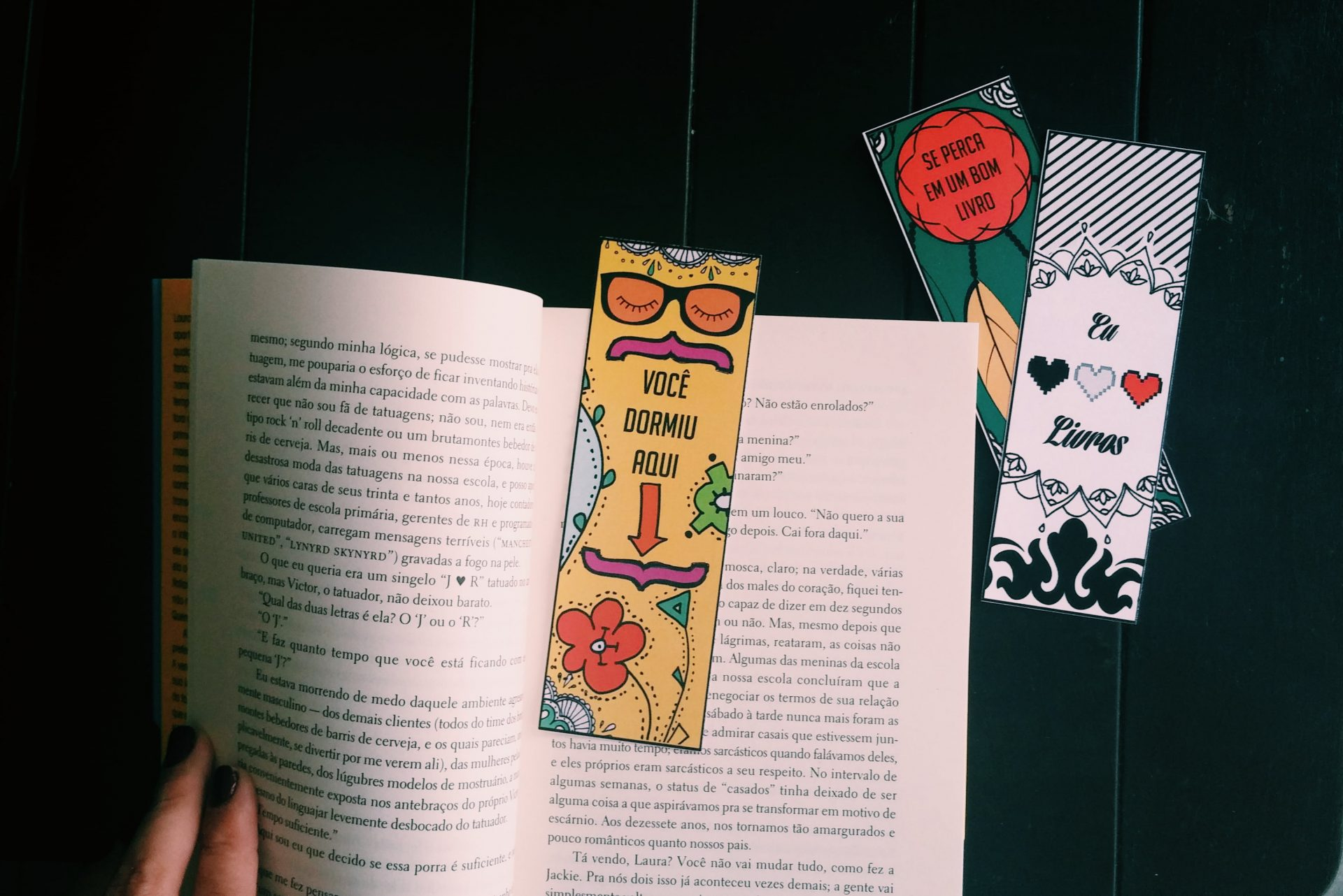 Marcadores De Livro Para Imprimir E Colorir Mania De Decoracao