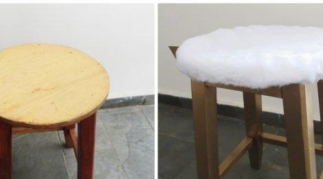 Como reformar um banquinho de madeira de forma fácil