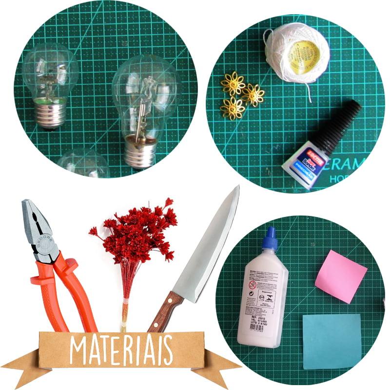 lampada-com-flores-materiais