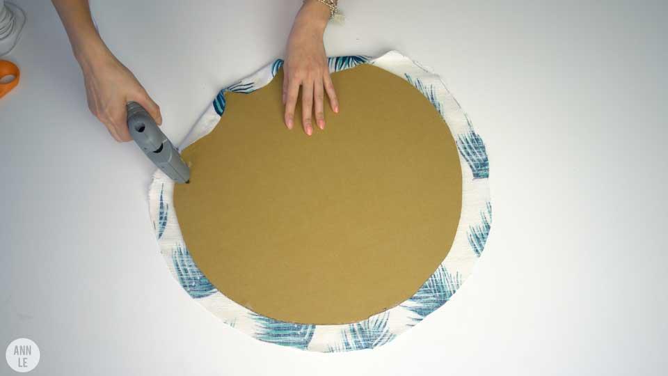 Como fazer um mural de recados de papel o mania de decora o for Como fazer um mural de recados