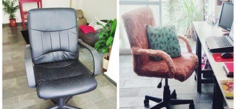 Como reformar cadeira de escritório com R$ 35