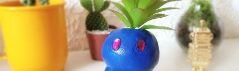 Como fazer um vaso de Pokémon - Oddish