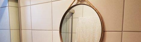 Como fazer espelho com forma de pizza - DIY