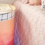 Mesa de tambor para o quarto – DIY
