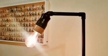Como fazer luminária de PVC e pilão