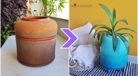 Decoração com filtro velho - DIY