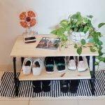 Sapateira de cano PVC – DIY