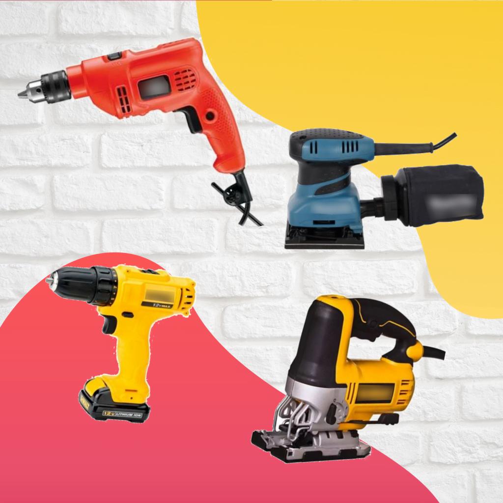 Materiais básicos para fazer DIY na sua casa